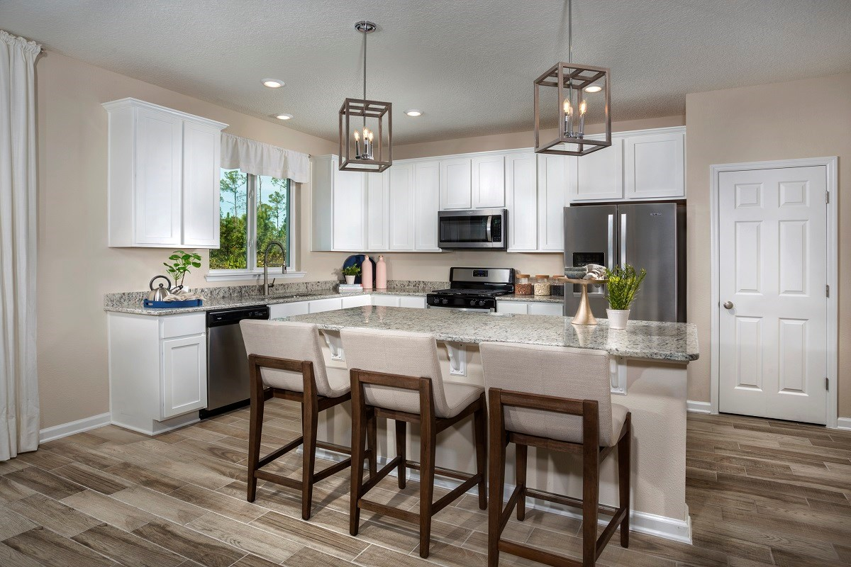 New Homes in Jacksonville, FL - Williamstown The Madison Kitchen