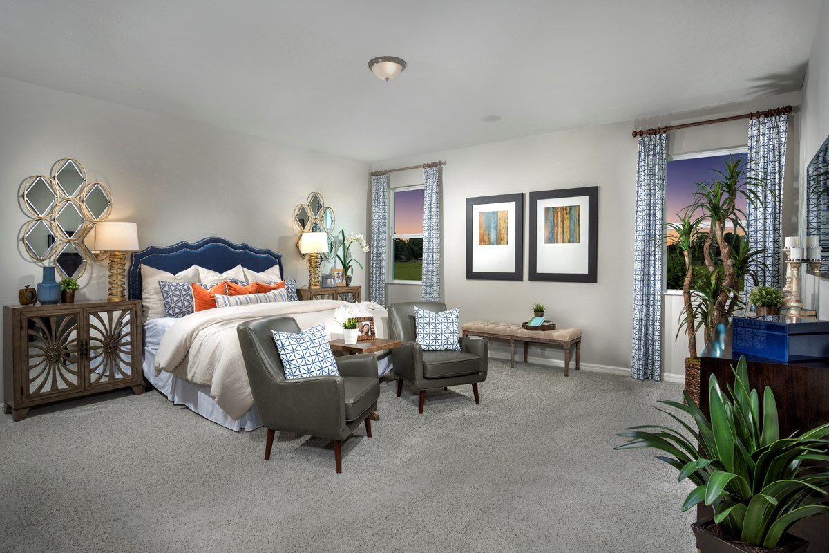 New Homes in Lakeland, FL - Cayden Reserve 2168 Master Bedroom