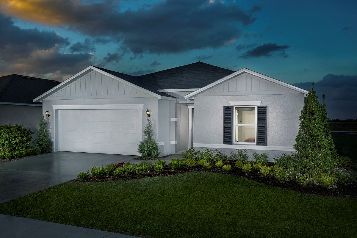 New Homes in Winter Haven, FL - Lake Lucerne Plan 1989