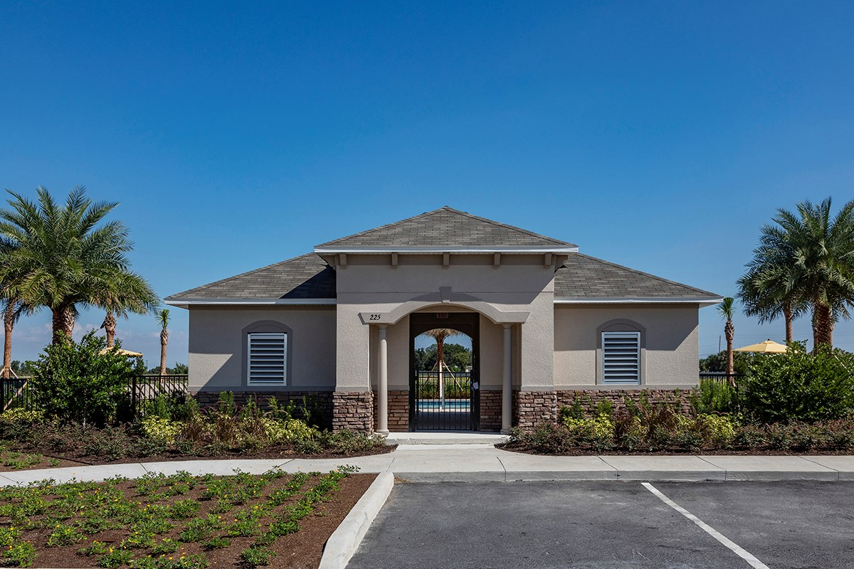New Homes in Winter Haven, FL - Lake Lucerne Community Amenity - Cabana