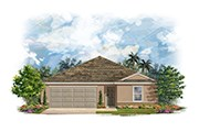 New Homes in Mulberry, FL - Plan 1443