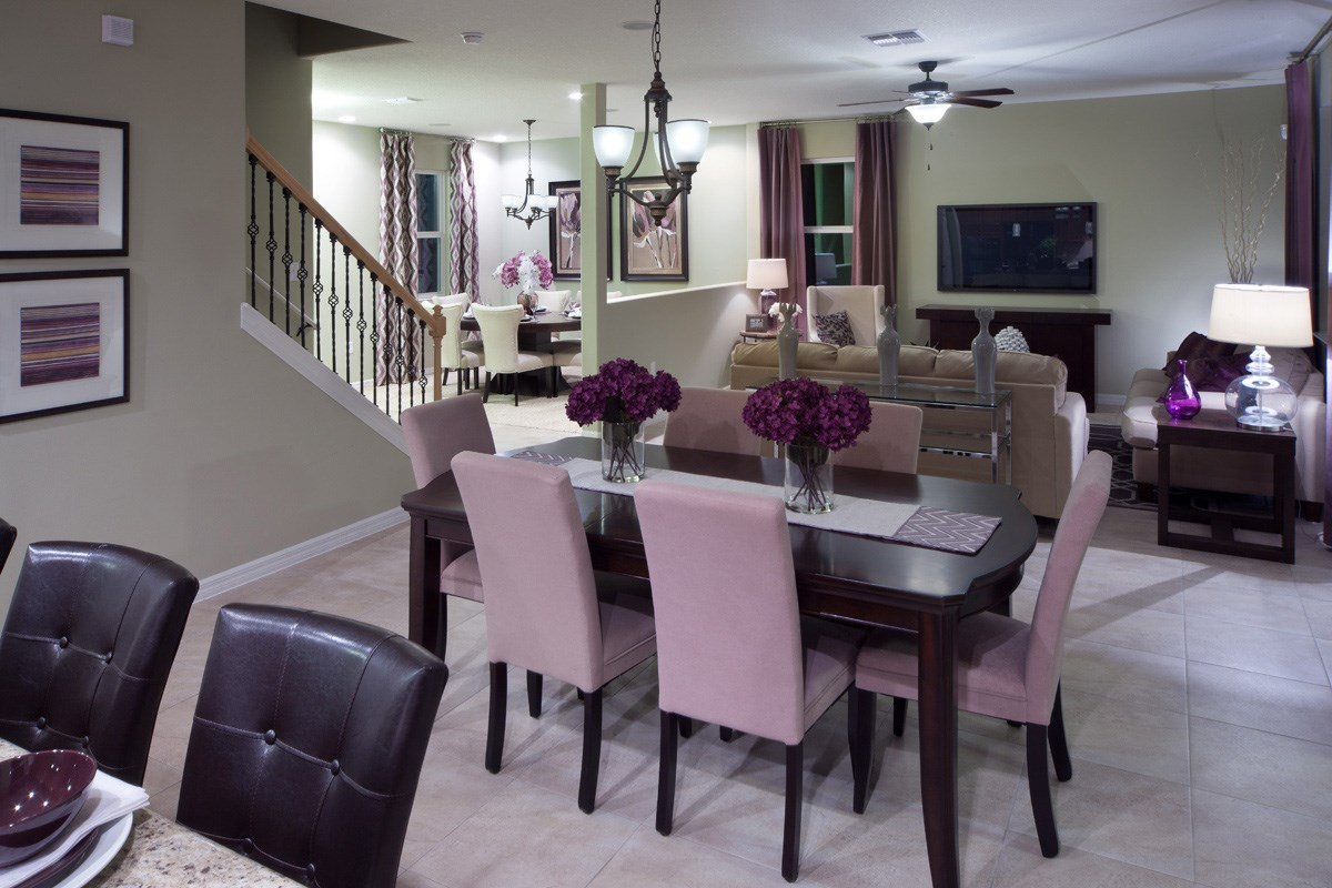 New Homes in Mulberry, FL - Sundance Fields 2550 Dining Room