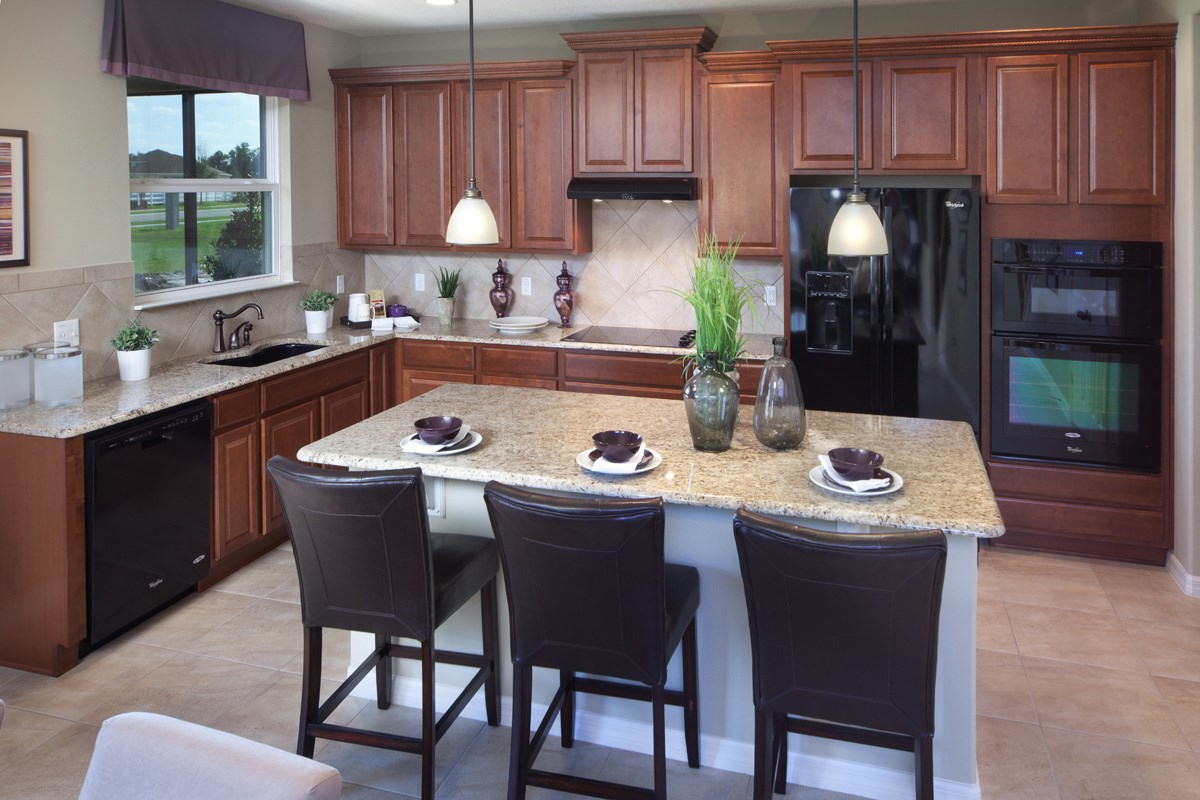 New Homes in Mulberry, FL - Sundance Fields 2550 Kitchen