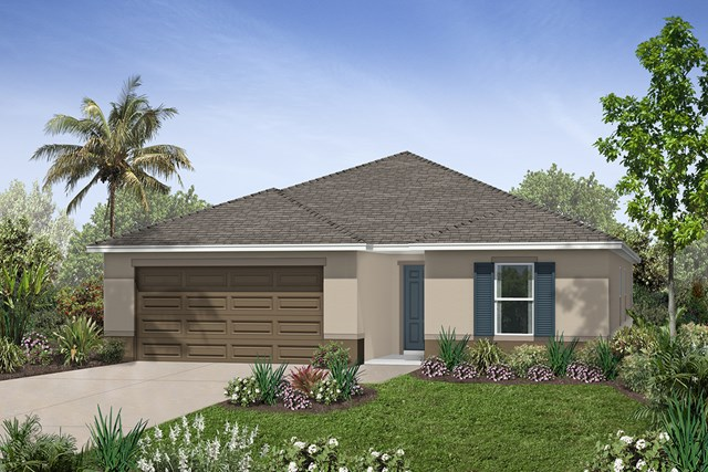 New Homes in Mulberry, FL - Elevation A