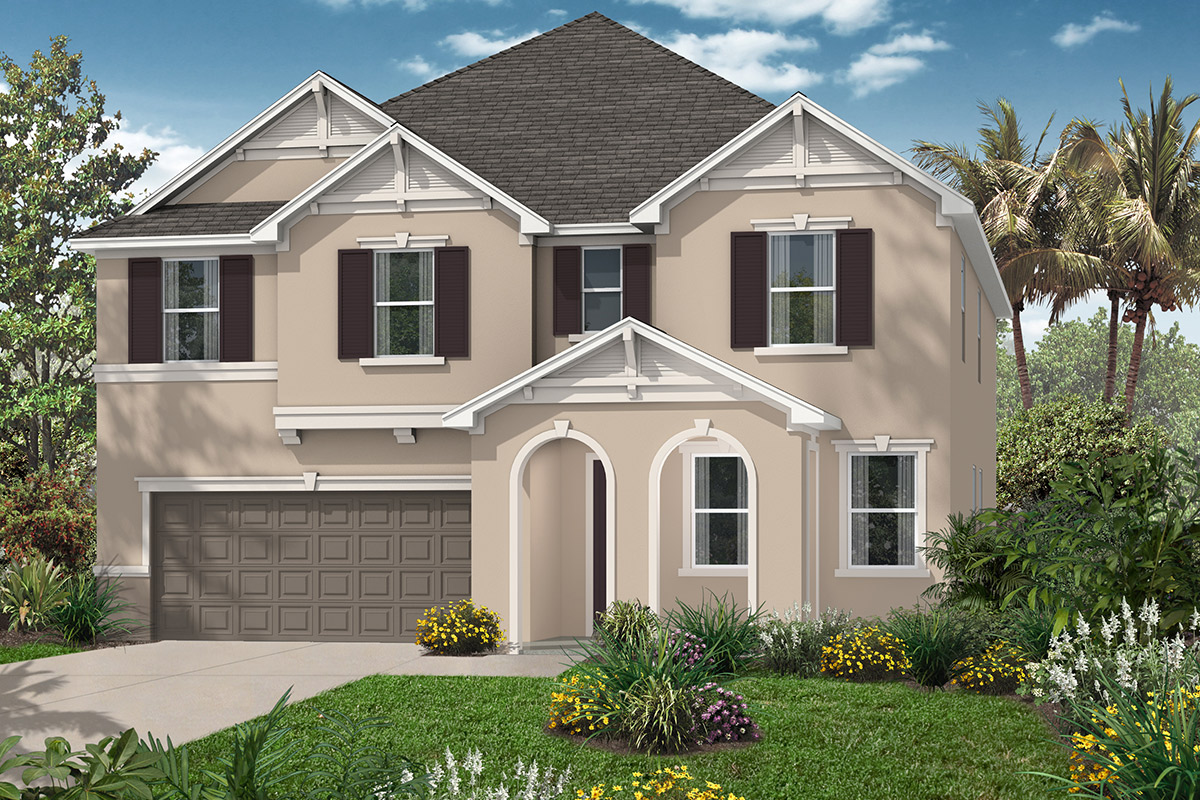Plan 3203 new home floor plan in carriage hill by kb home for House of floors orlando florida