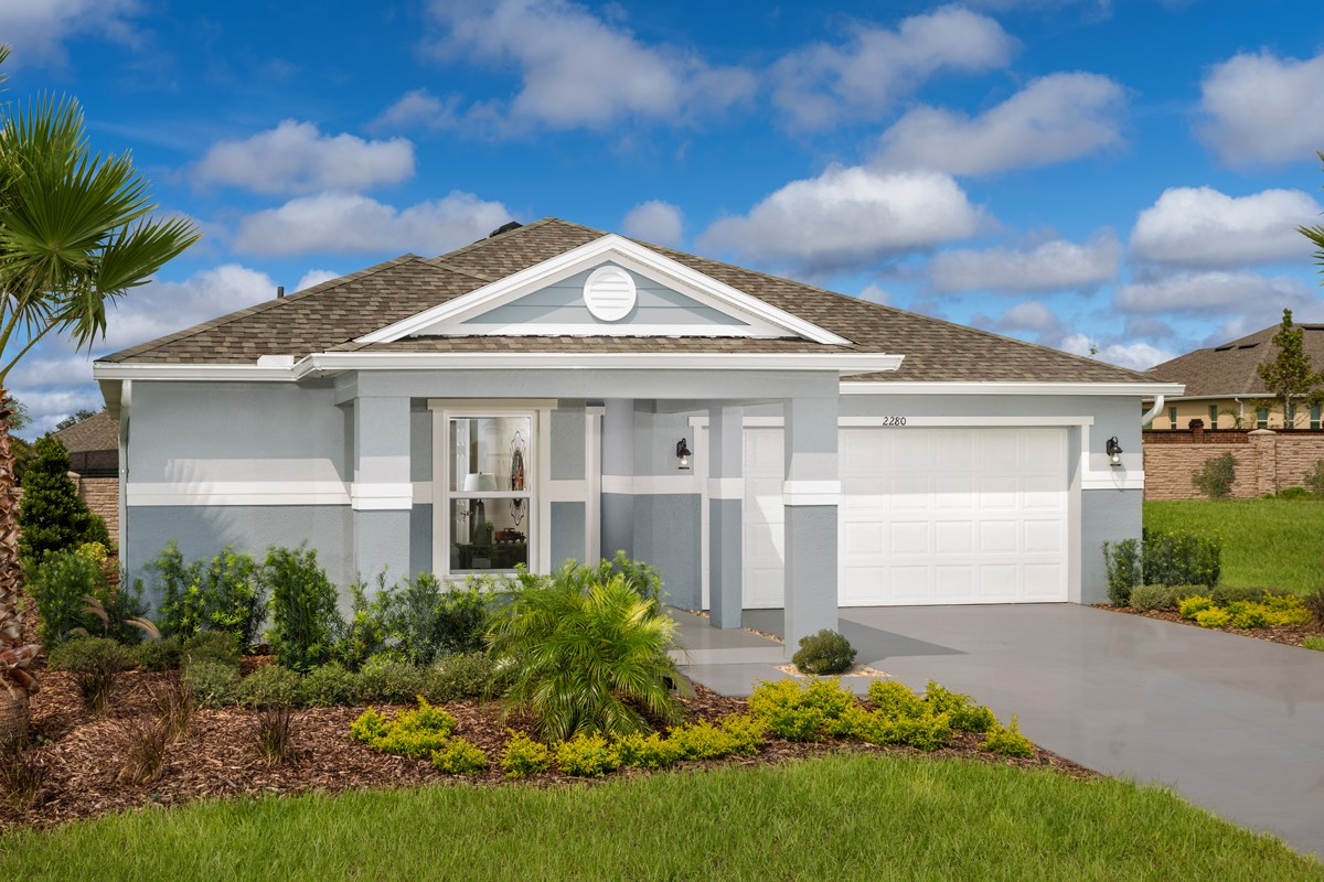 New Homes in Apopka, FL - Carriage Hill Plan 1723