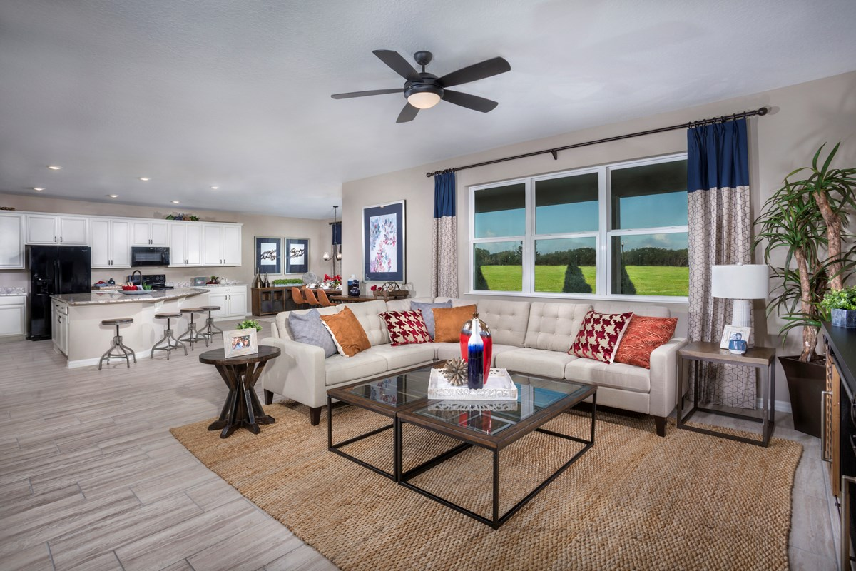 New Homes in Apopka, FL - Carriage Hill 3203 Great Room