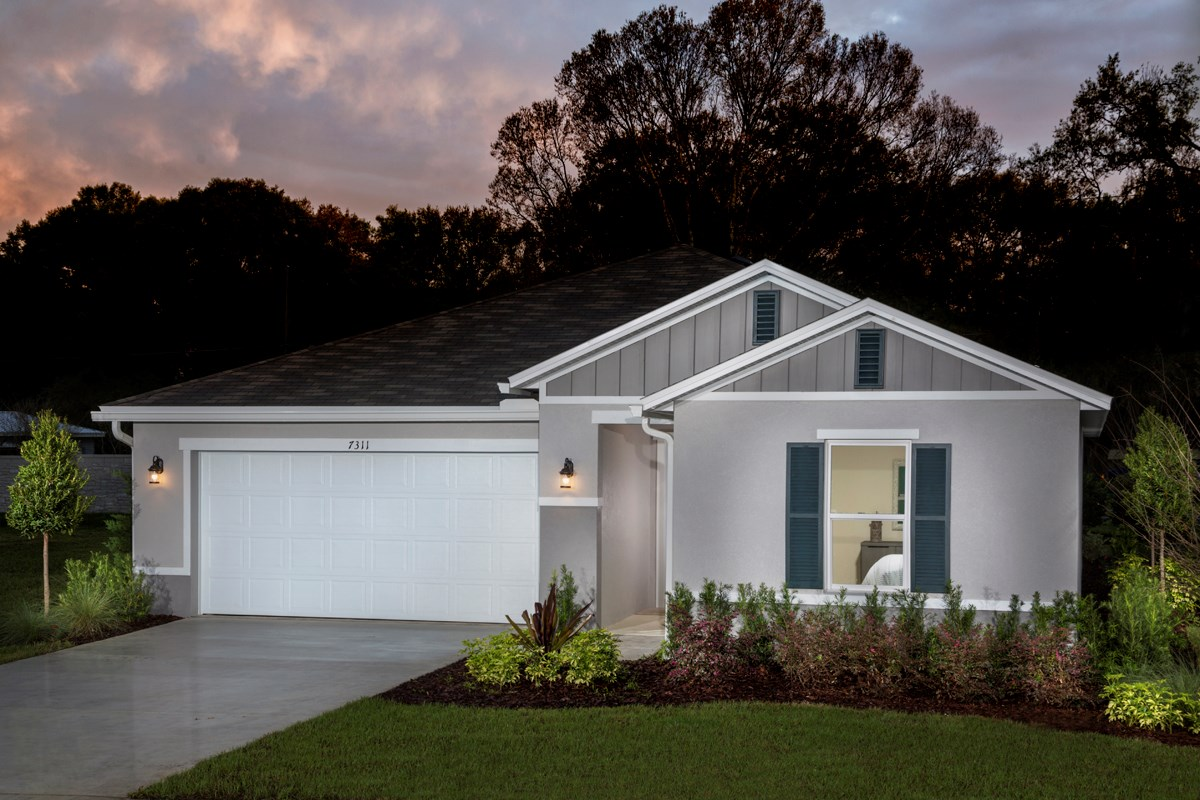 New Homes in Kissimmee, FL - Casa Bella Plan 1541 as modeled at Cayden Reserve