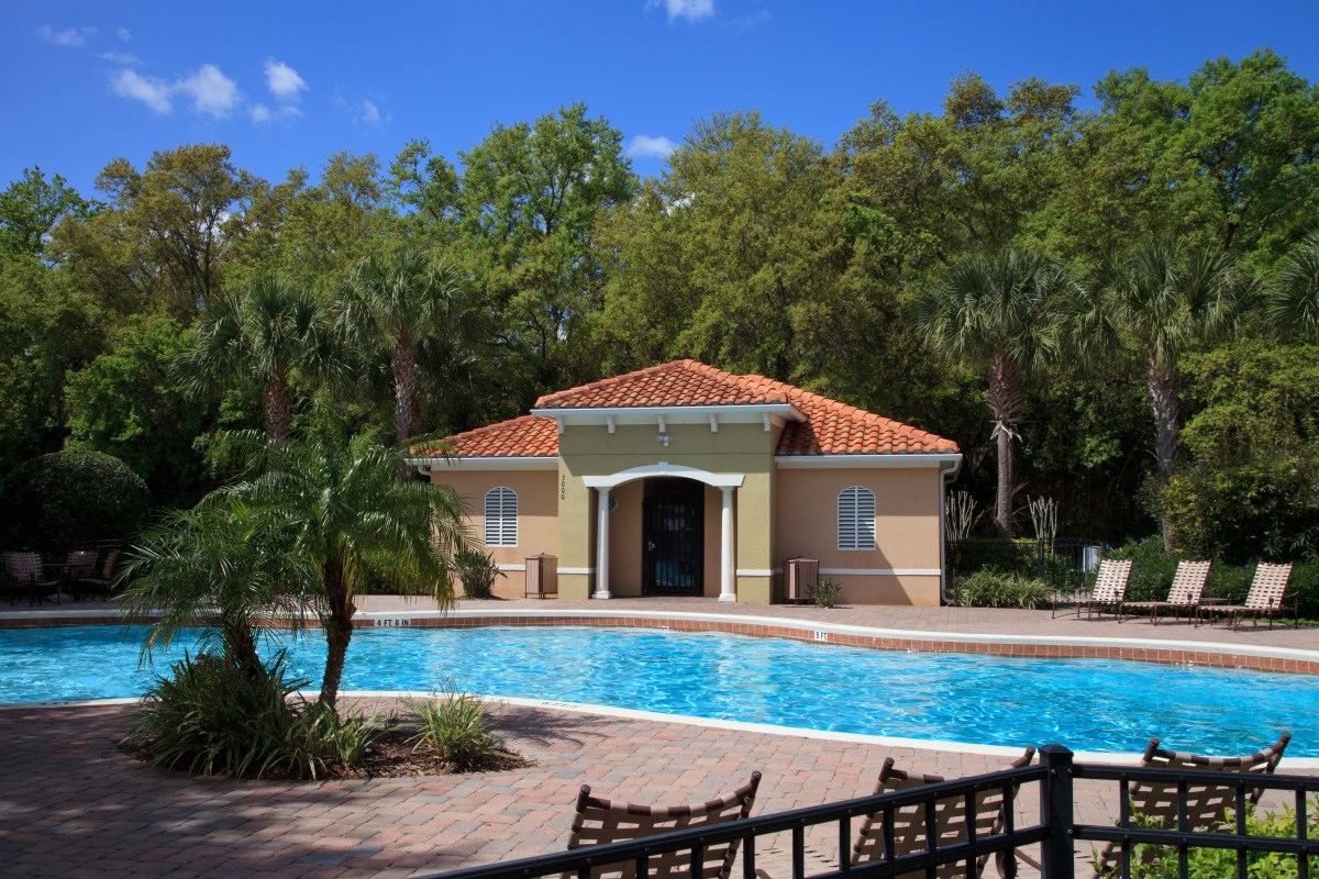 New Homes in Kissimmee, FL - Compass Bay Townhomes Heated Community Pool