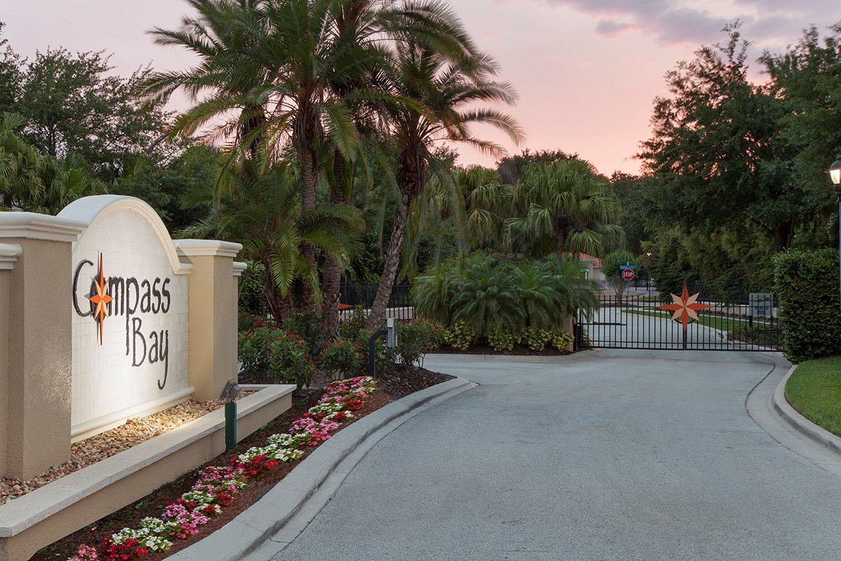 New Homes in Kissimmee, FL - Compass Bay Townhomes Gated Community