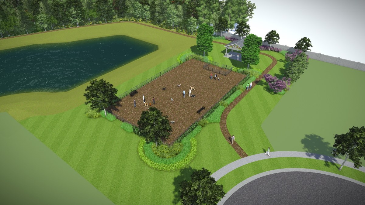 New Homes in Orlando, FL - Creekstone Future Dog Park