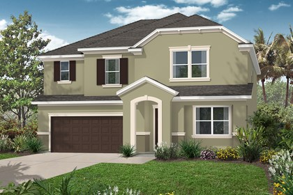New Homes in Orlando, FL - Elevation E