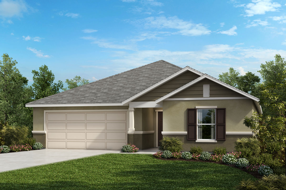 Stone Elevation Cost : Plan new home floor in creekstone by kb