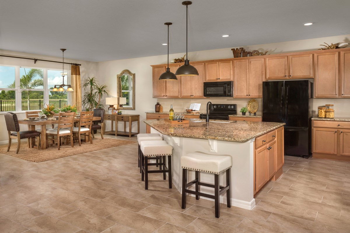 New Homes in Orlando, FL - Creekstone 2843 Kitchen & Dining
