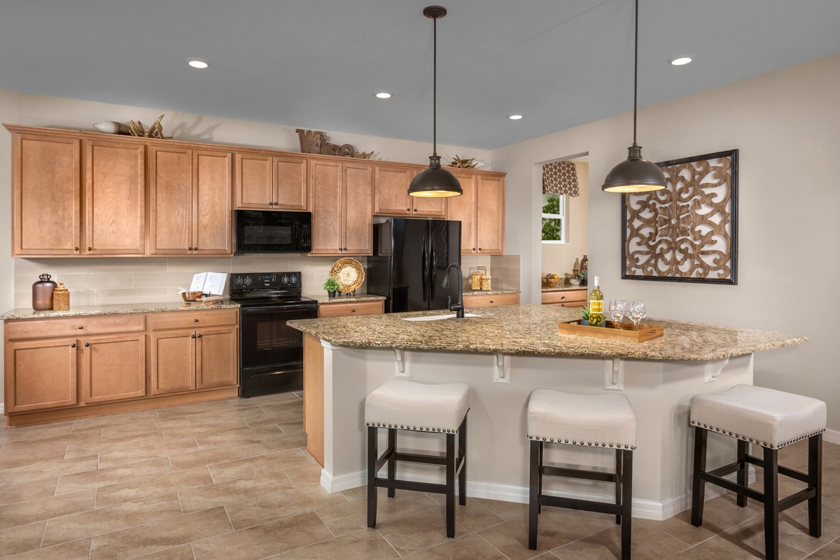 New Homes in Orlando, FL - Creekstone 2843 Kitchen