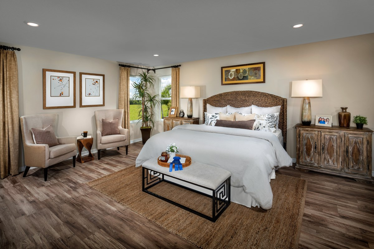 New Homes in Orlando, FL - Creekstone 2843 Master Bedroom