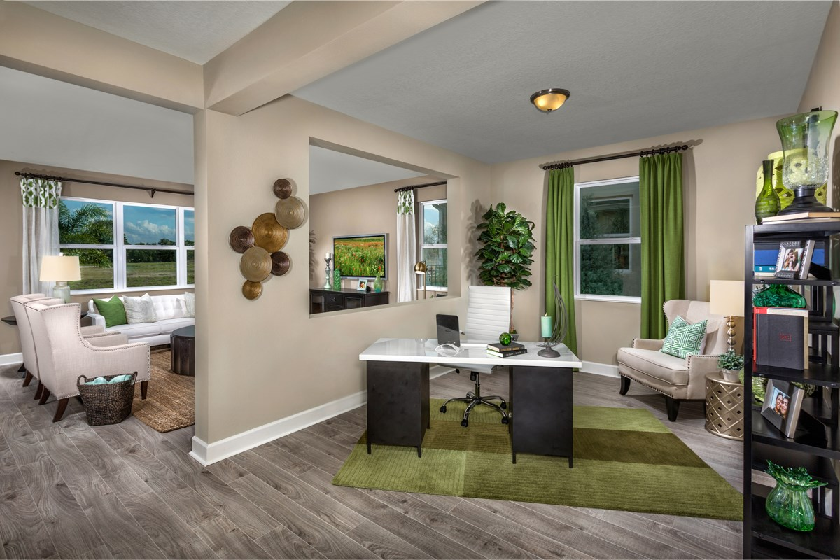 New Homes in Orlando, FL - Creekstone 1899 Flex Room/Den