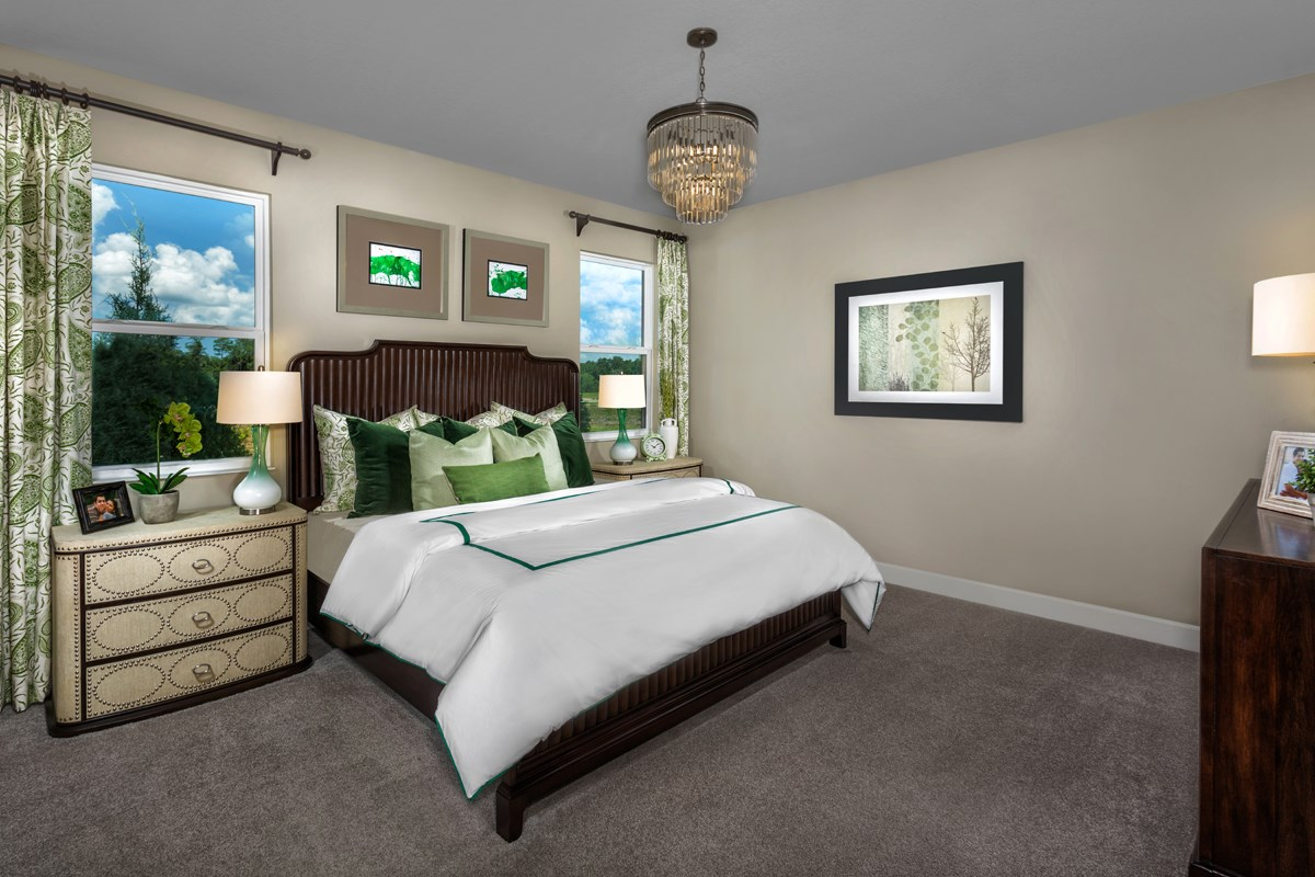 New Homes in Orlando, FL - Creekstone 1899 Master Bedroom