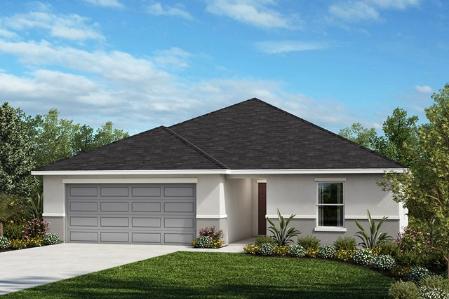 New Homes in Kissimmee, FL - Elevation A