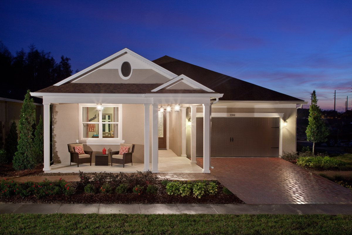 New Homes in Kissimmee, FL - Enclave at Tapestry II 2127 Model