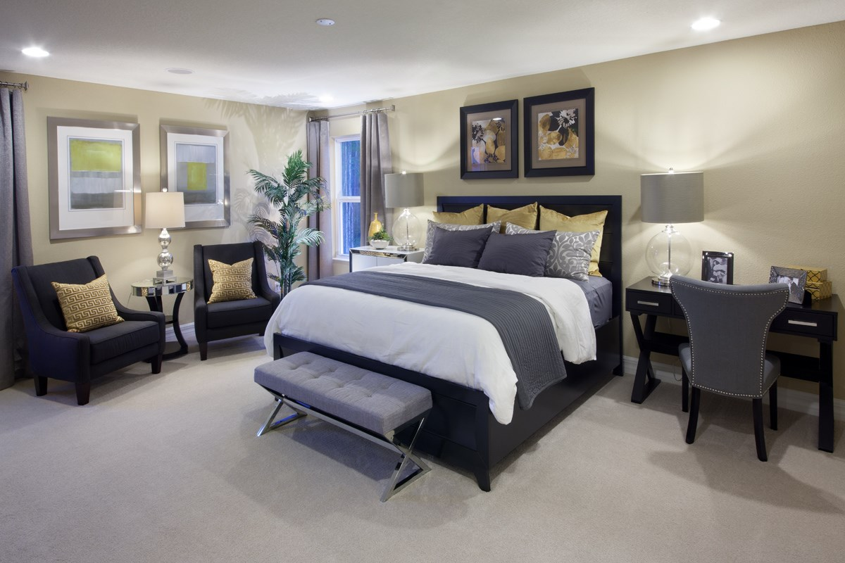 New Homes in Kissimmee, FL - Enclave at Tapestry II 3009 Master Bedroom