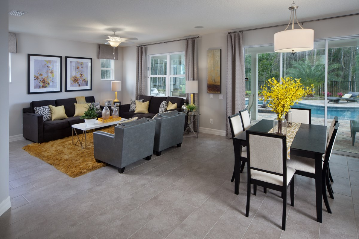 Plan 2204 New Home Floor Plan In Enclave At Tapestry Ii By Kb Home