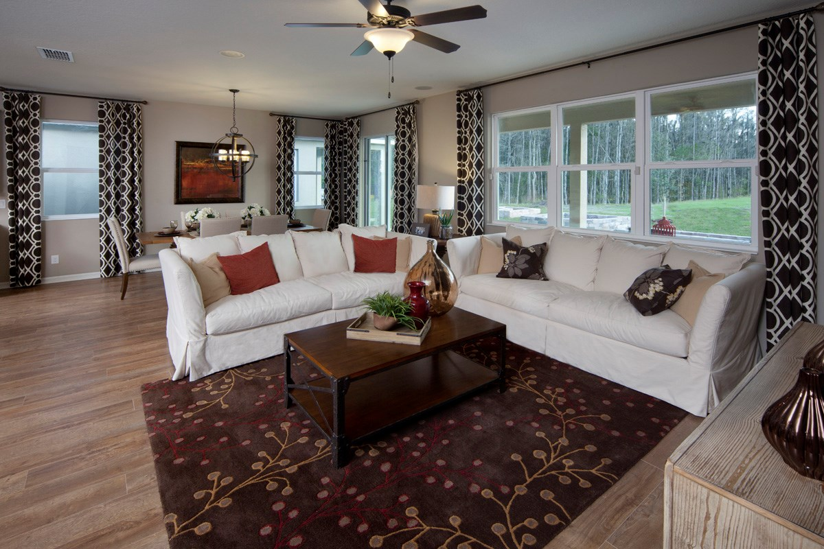 New Homes in Kissimmee, FL - Enclave at Tapestry II 2127 Great Room