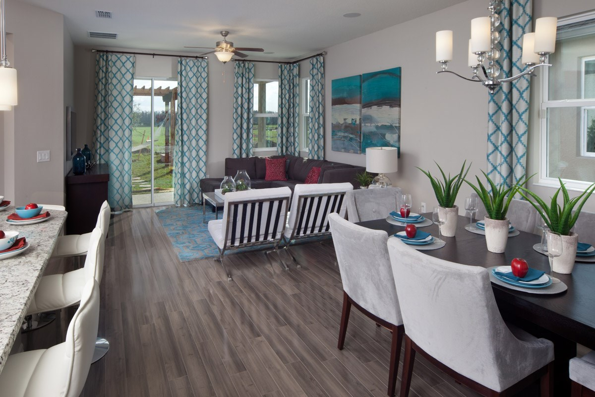 New Homes in Kissimmee, FL - Enclave at Tapestry 1973 Great Room