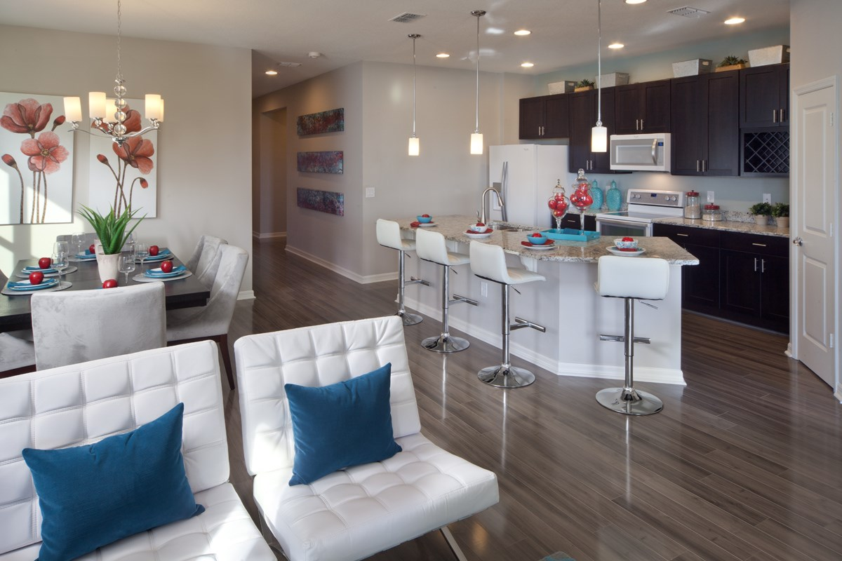 New Homes in Kissimmee, FL - Enclave at Tapestry II 1973 Dining & Kitchen