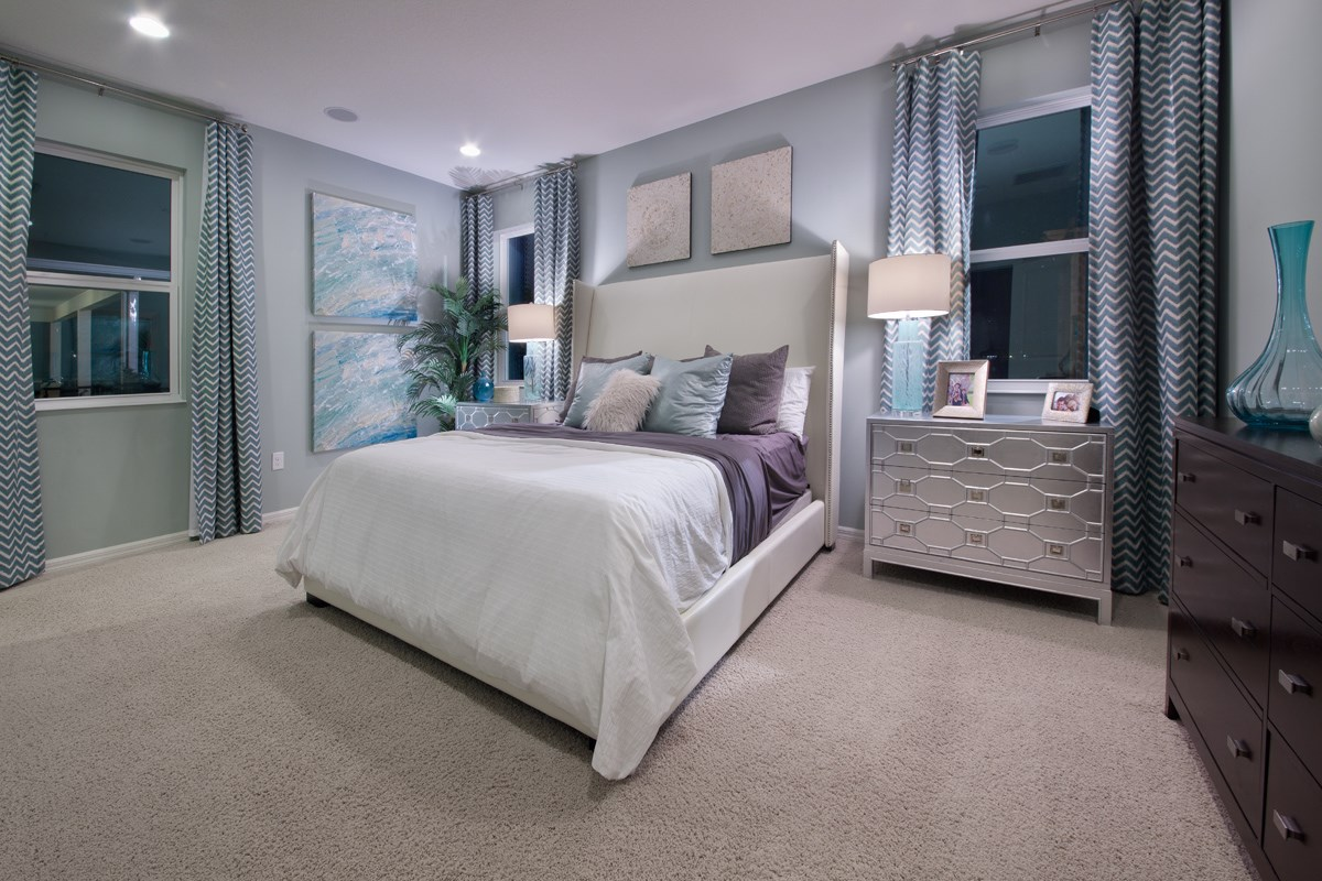 New Homes in Kissimmee, FL - Enclave at Tapestry 1973 Master Bedroom