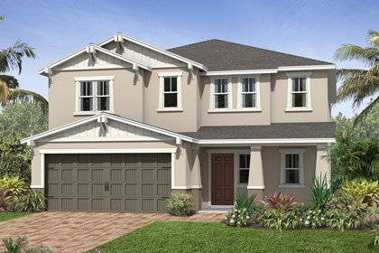 New Homes in Kissimmee, FL - Elevation D