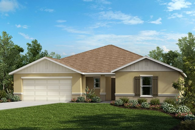 New Homes in Mascotte, FL - Elevation G