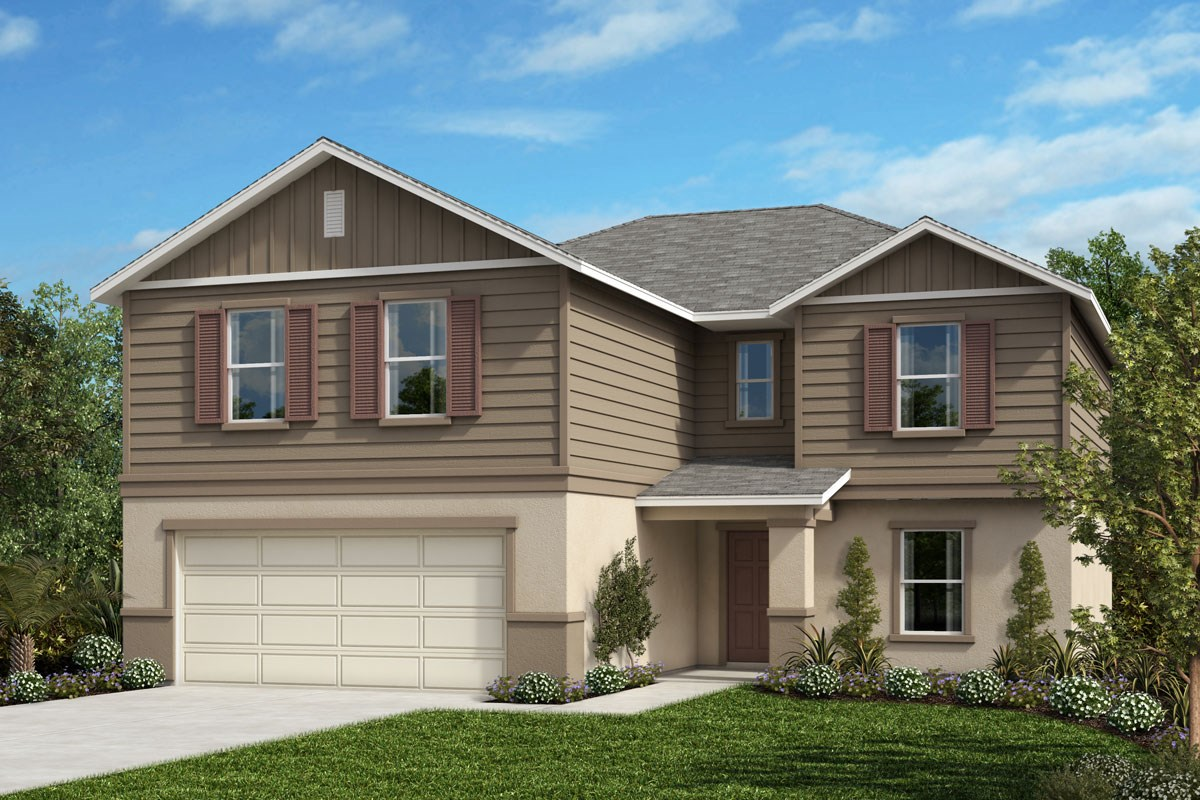 New Homes in Mascotte, FL - The Gardens at Lake Jackson Ridge Plan 2545