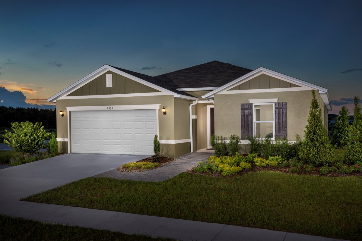 New Homes in St. Cloud, FL - Gramercy Farms Plan 1989
