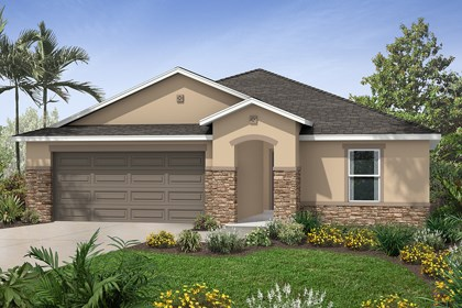 New Homes in St. Cloud, FL - Elevation D