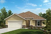 New Homes in St. Cloud, FL - Plan 1707 Modeled