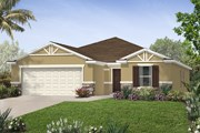 New Homes in St. Cloud, FL - Plan 1899 Modeled