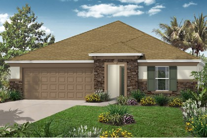 New Homes in St. Cloud, FL - Elevation C