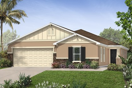 New Homes in St. Cloud, FL - Elevation B