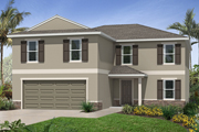 Plan 2550. Choose from more new built-to-order homes available from KB Home at Gramercy Farms in St. Cloud, FL.