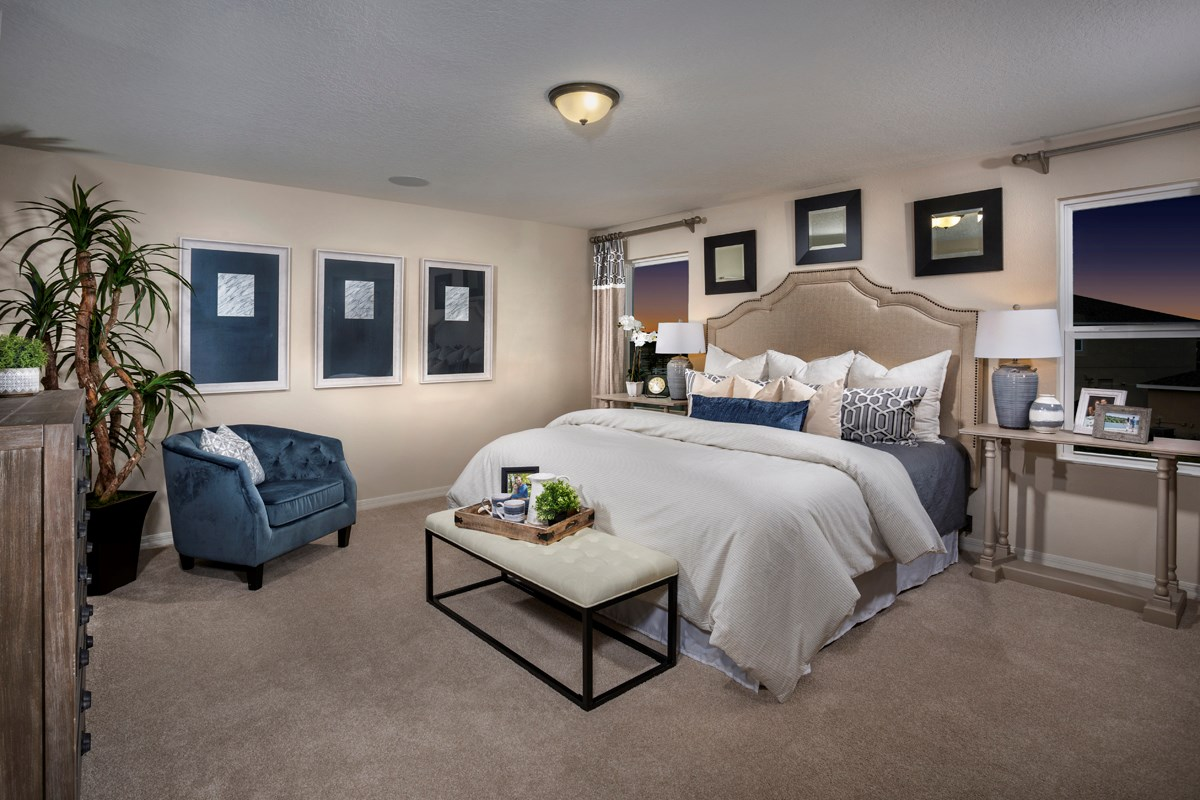 New Homes in St. Cloud, FL - Hanover Square 2716 Master Bedroom