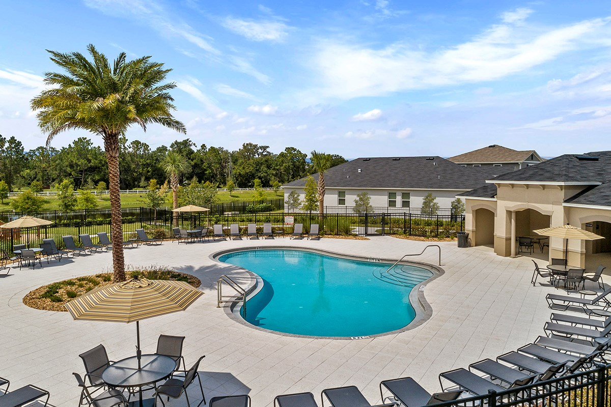 New Homes in St. Cloud, FL - Hanover Square Community Pool