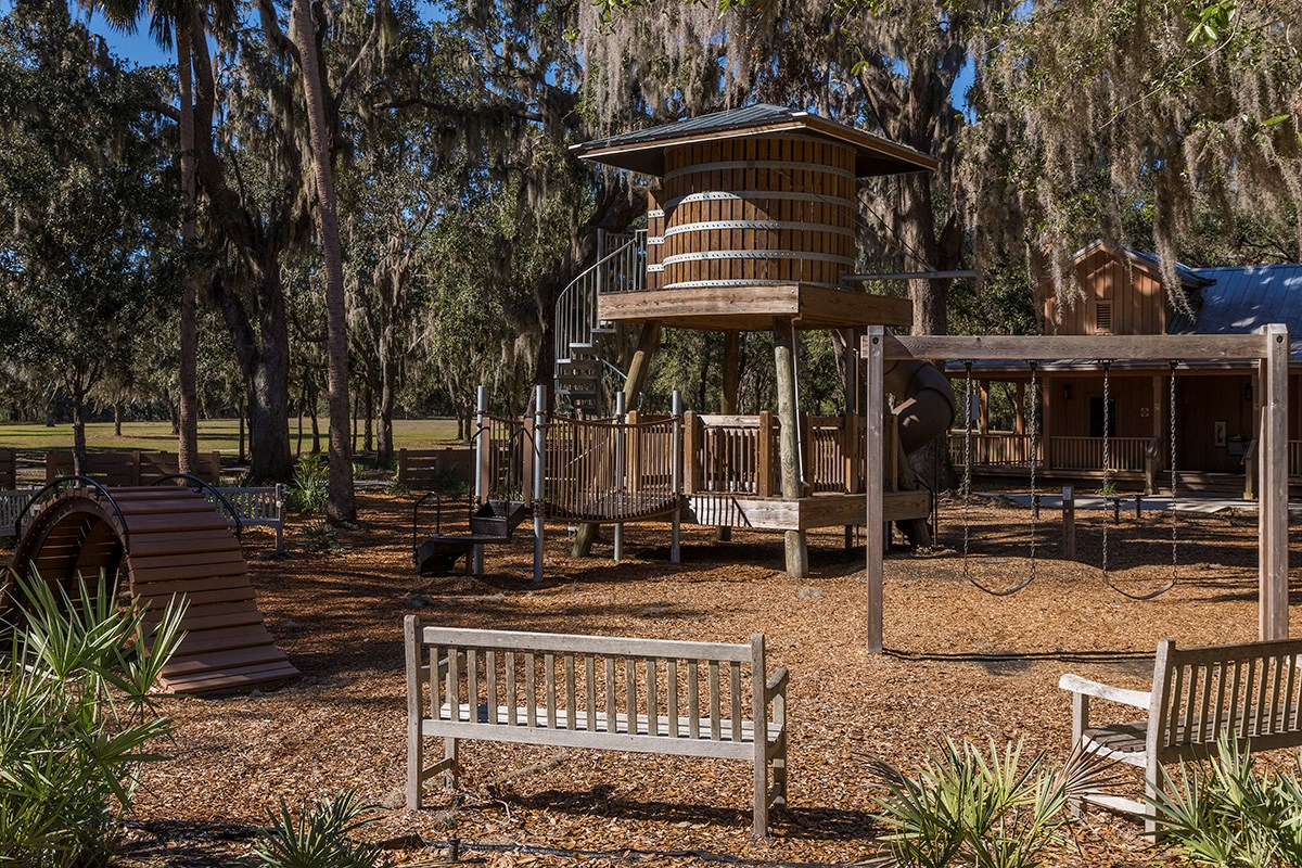 New Homes in Clermont, FL - Lake Minneola Landings Nearby Lake Hiawatha Preserve Playground