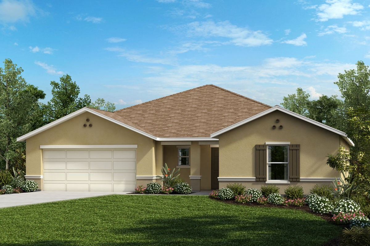 New Homes in Clermont, FL - Lake Minneola Landings Plan 2178
