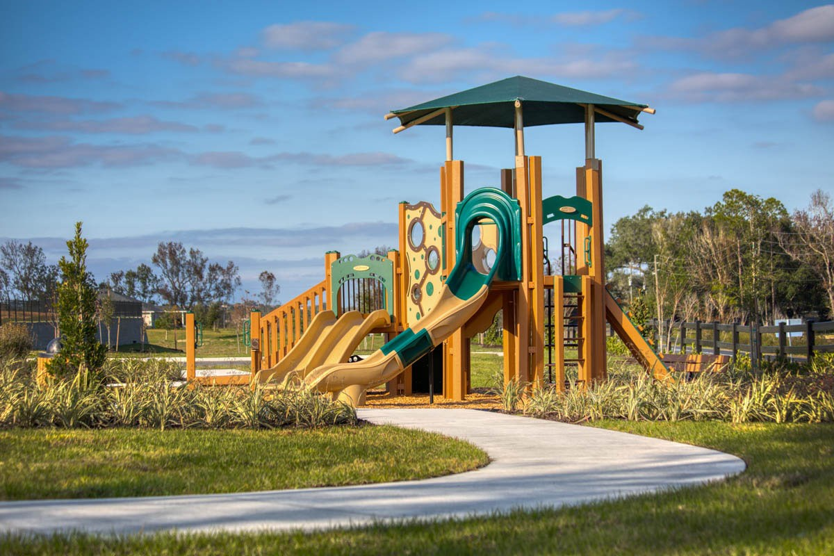 New Homes in Clermont, FL - Lake Minneola Landings Community Tot Lot