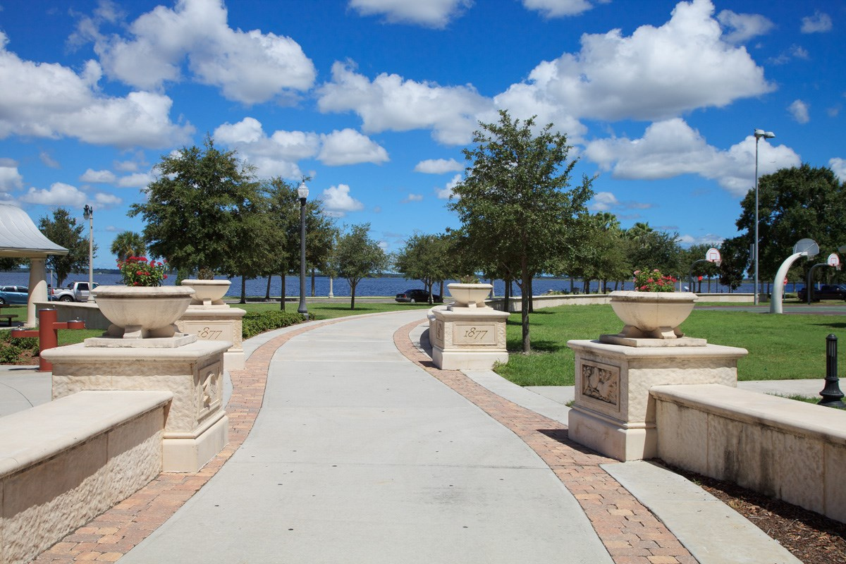 New Homes in Sanford, FL - Landings at Riverbend Townhomes Fort Mellon Historic Site