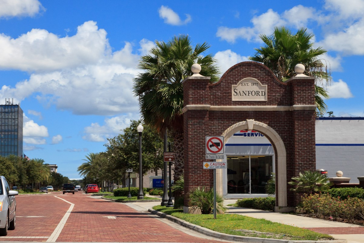 New Homes in Sanford, FL - Landings at Riverbend Townhomes Historic Downtown Sanford