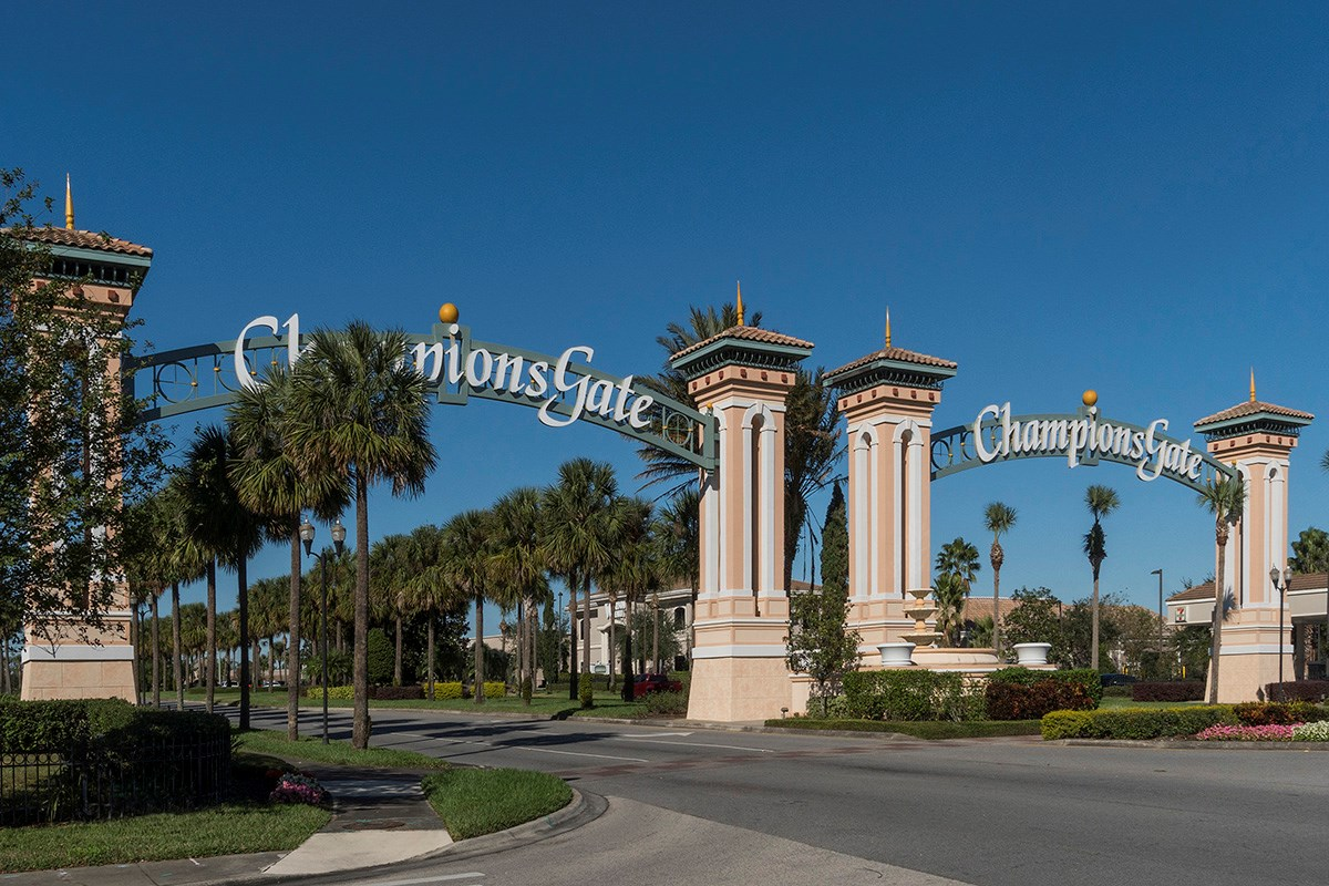 New Homes in Davenport, FL - Tivoli Reserve Nearby Champions Gate for shopping and dining