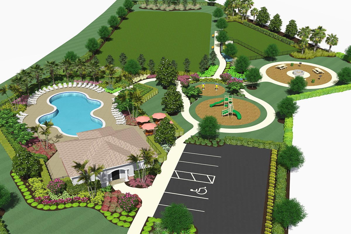 New Homes in Kissimmee, FL - Magnolia at Westside Future Community Amenity