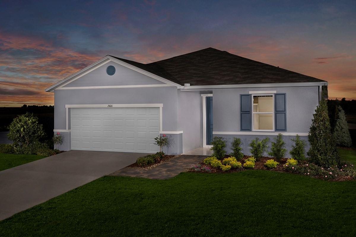 New Homes in Kissimmee, FL - Magnolia at Westside Plan 1989